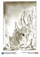 devilscatacomb-strichzeichnung