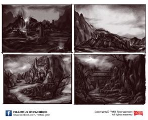 devilscatacomb-zeichnungen