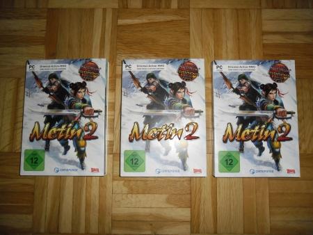 Gameforge - Metin2 DVD Boxen